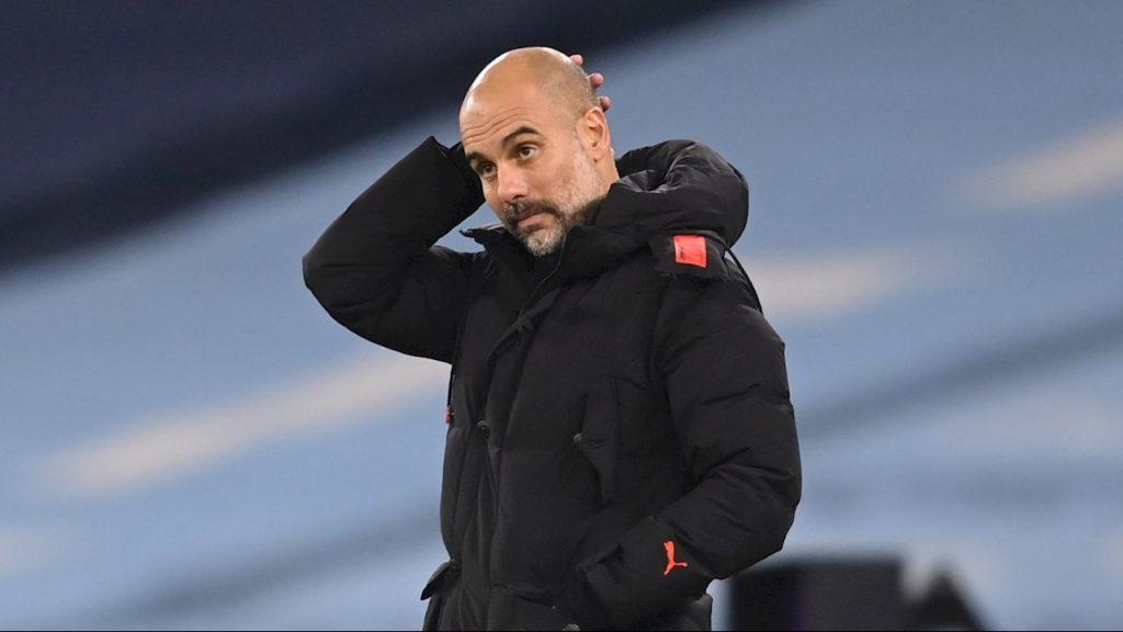 Josep Guardiola, técnico del Manchester City. Foto: EFE
