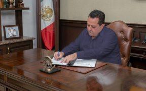 Gobernador de BCS veta Ley de Ingresos y el Presupuesto de Egresos