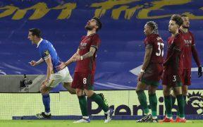 El Wolverhampton empató 3-3 ante el Brighton, su cuarto partido consecutivo sin ganar. Foto: Reuters
