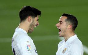 Real Madrid venció 2-0 al Celta con goles de Lucas Vázquez y Asensio. Foto: EFE