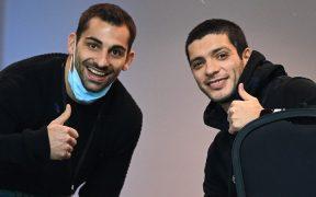 Jiménez acudió al club para iniciar su rehabilitación. Foto: @Wolves