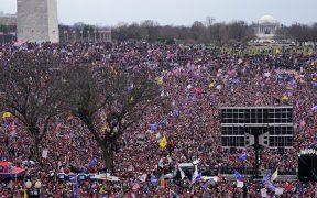 Partidarios de Trump protestan en Washington contra victoria de Biden