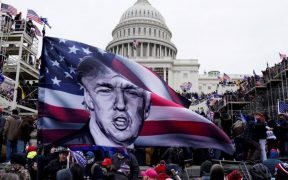 Disturbios y violencia cierran la presidencia de Trump