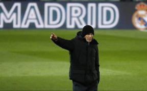 Zinedine Zidane, técnico del Real Madrid. Foto: Reuters