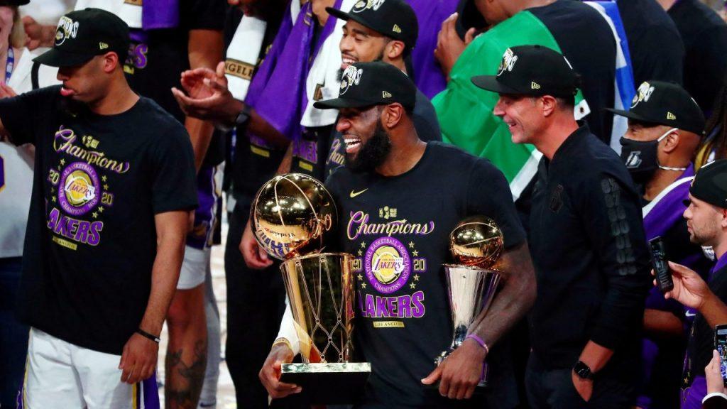 Los Lakers visitarán de nuevo la Casa Blanca. Foto: Reuters