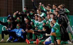 El Cornellá sorprendió al Atlético de Madrid, y su siguiente rival es el Barcelona. Foto: EFE