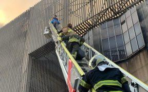 Video. Así se vivió el incendio en la Central de Control de Trenes del Metro