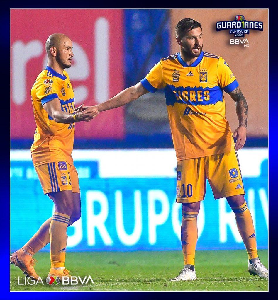González y Gignac mostraron que serán una dupla de mucho peligro. Foto: @LigaBBVAMX