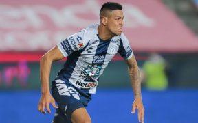 Mauro Quiroga marcó el milagroso empate para el Pachuca en el último minuto. Foto: Mexsport