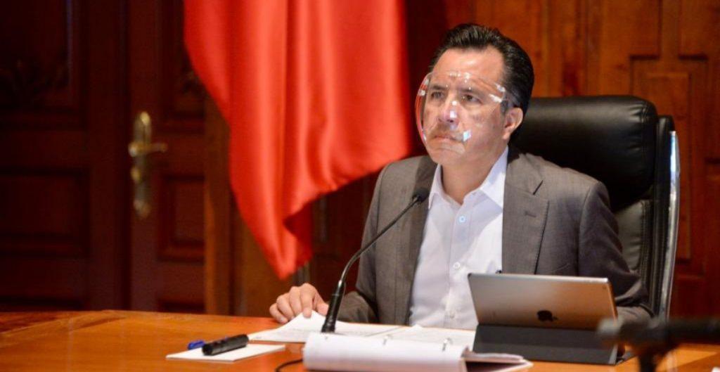 Descarta Cuitláhuac García, gobernador de Veracruz, que nueva cepa de Covid-19 llegue al estado