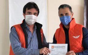 El exfutbolista Adolfo Ríos se registra como precandidato de MC para la alcaldía de Querétaro
