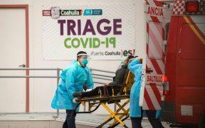México supera las 135 mil muertes por Covid-19; reporta mil 300 decesos en un día
