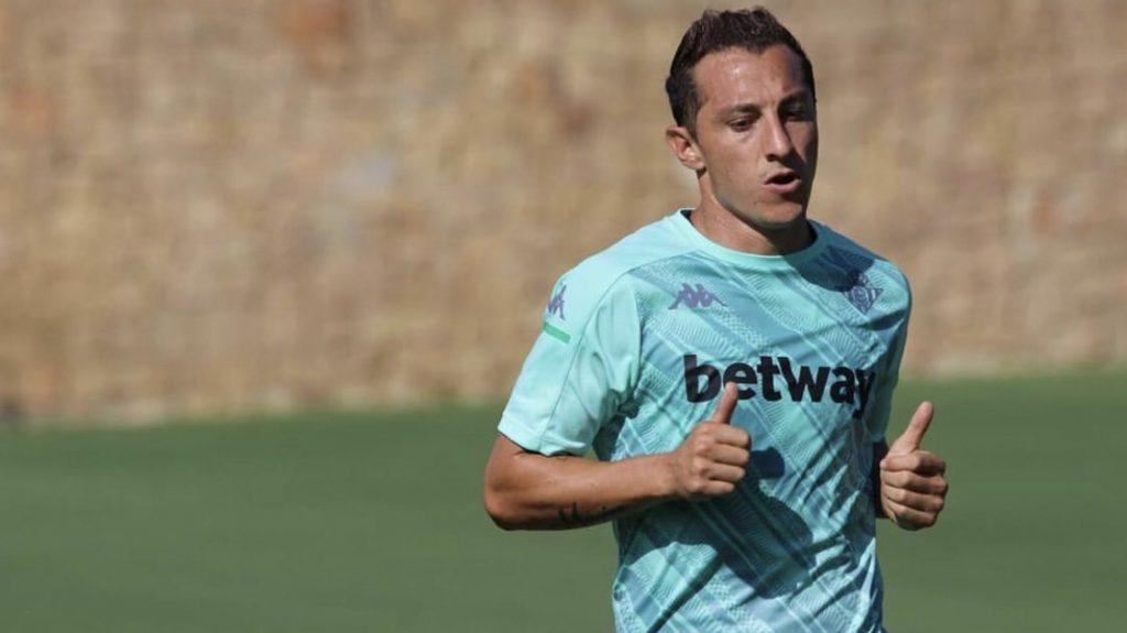 Andrés Guardado se recuperó de la COVID-19 y volvió a la actividad con el Betis. Foto: @AGuardado18