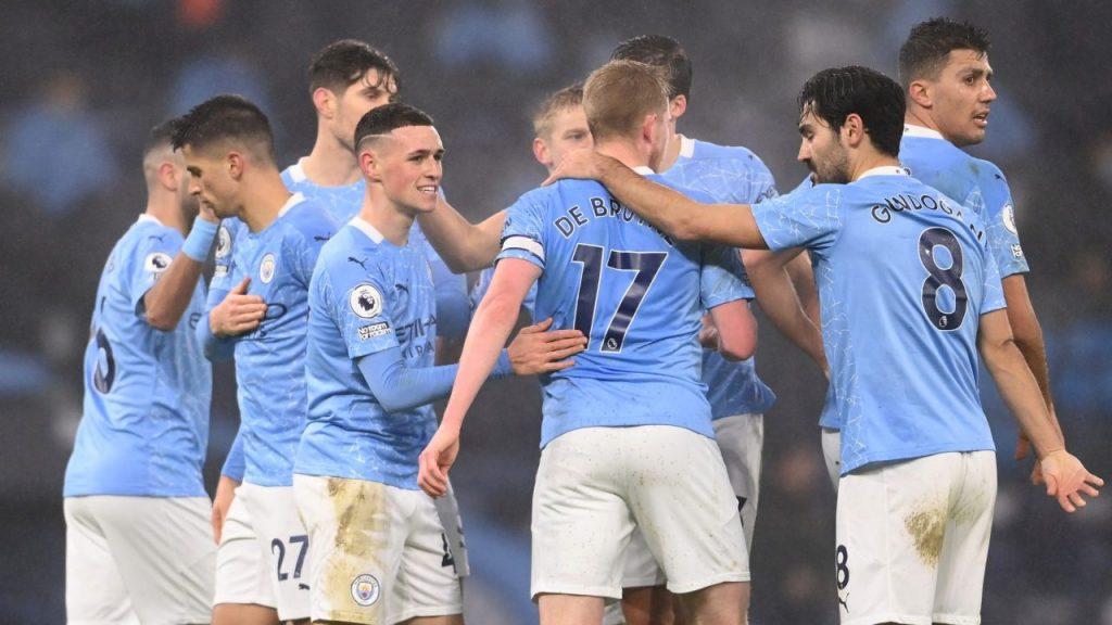 El Manchester City venció al Brighton con gol de Phil Foden. Foto: Reuters