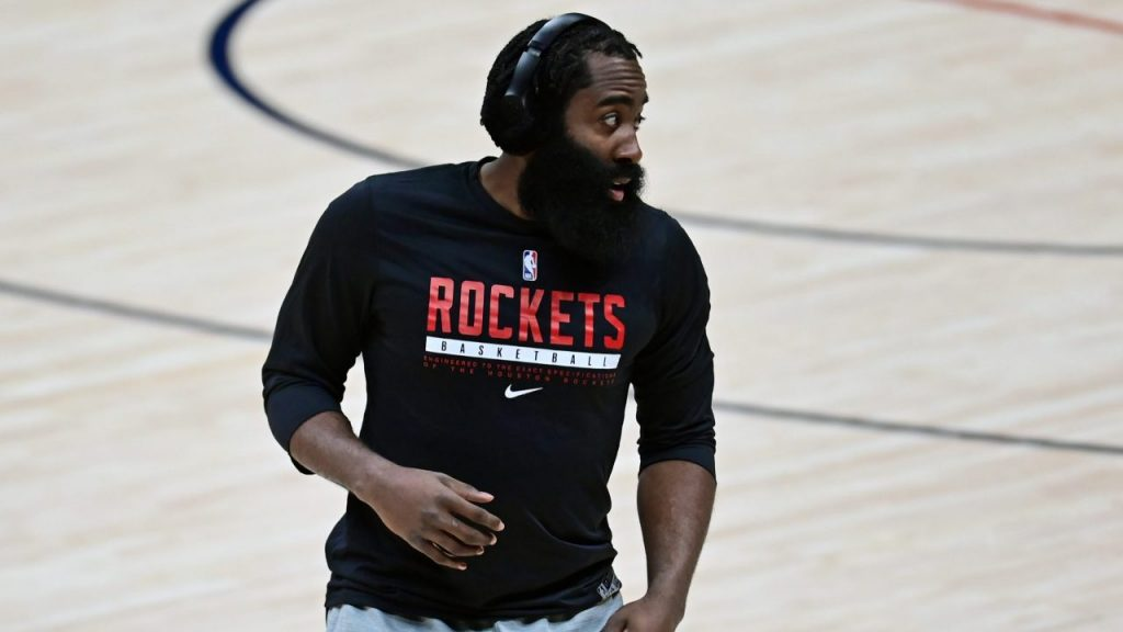 La época de James Harden en Houston termina de manera abrupta. Foto: Reuters