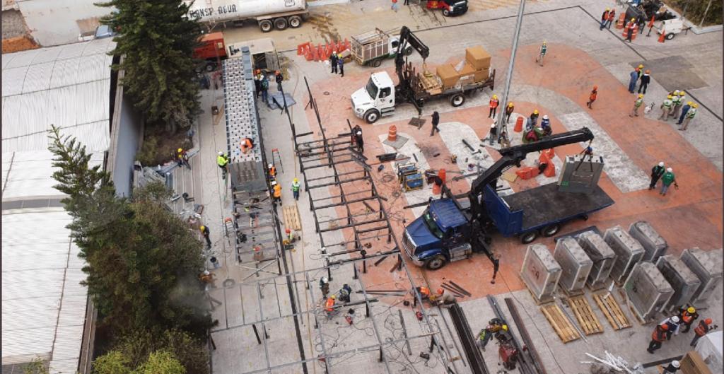 CFE construye subestación de potencia para restablecer suministro eléctrico del Metro