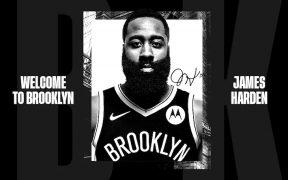 James Harden aportará mucha experiencia a los Nets de Brooklyn. Foto: @BrooklynNets