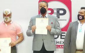 Actor Alfredo Adame buscará diputación con RSP
