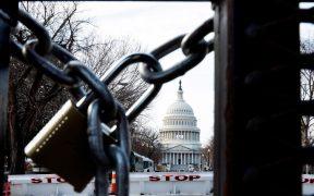Arrestan a otro hombre armado y a una mujer cerca del Capitolio