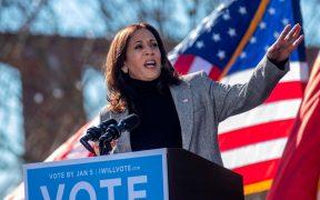 Kamala Harris renuncia al Senado; se prepara para tomar posesión como vicepresidenta