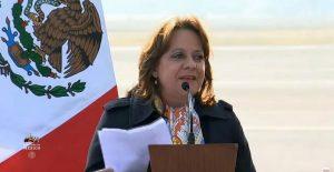Subsecretaria de la SRE, Martha Delgado, pide que se investigue la denuncia en su contra por vacunación clandestina