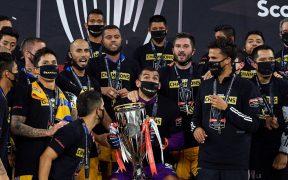 Tigres, Campeón de Concacaf, inaugurará el Mundial de Clubes. Foto: Mexsport