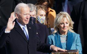Joe Biden es el presidente de Estados Unidos