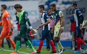 Tras jugar ante América, el Monterrey reportó 19 casos positivos a COVID-19. Foto: Mexsport