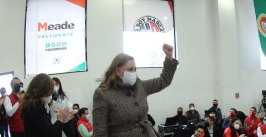 Exsenadora Graciela Ortiz se registra como precandidata a la gubernatura de Chihuahua por el PRI