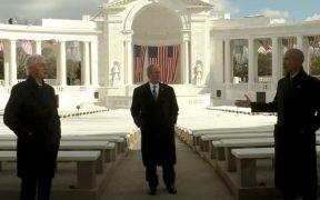 Obama, Bush y Clinton le desean lo mejor a Biden; reiteran importancia de unir al país