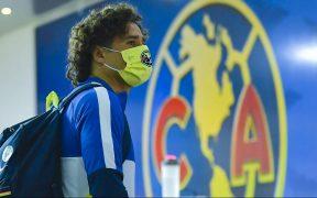 El portero de las Águilas confirmó que está contagiado de COVID-19. Foto: Mexsport
