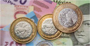Peso cae por aumento en la inflación en México; cotiza en 19.95 unidades por dólar