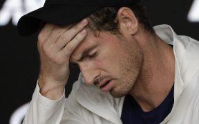 El esccés Andy Murray anunció que no participará en el Abierto de Australia. Foto: AP