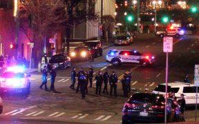 Una patrulla de la policía de Washington atropelló a una persona