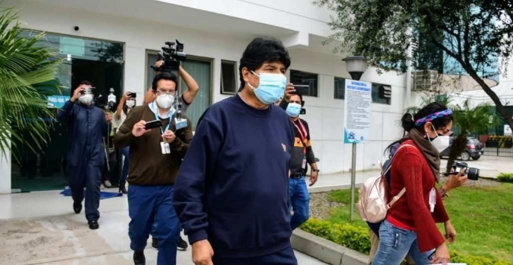 Evo Morales es dado de alta tras superar la Covid-19; estuvo dos semanas internado