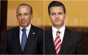 Peña Nieto y Calderón desean pronta recuperación a AMLO tras contagiarse de Covid