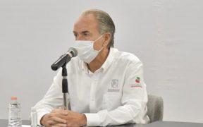 Gobernador de San Luis Potosí da negativo a Covid-19, tras reunirse con López Obrador