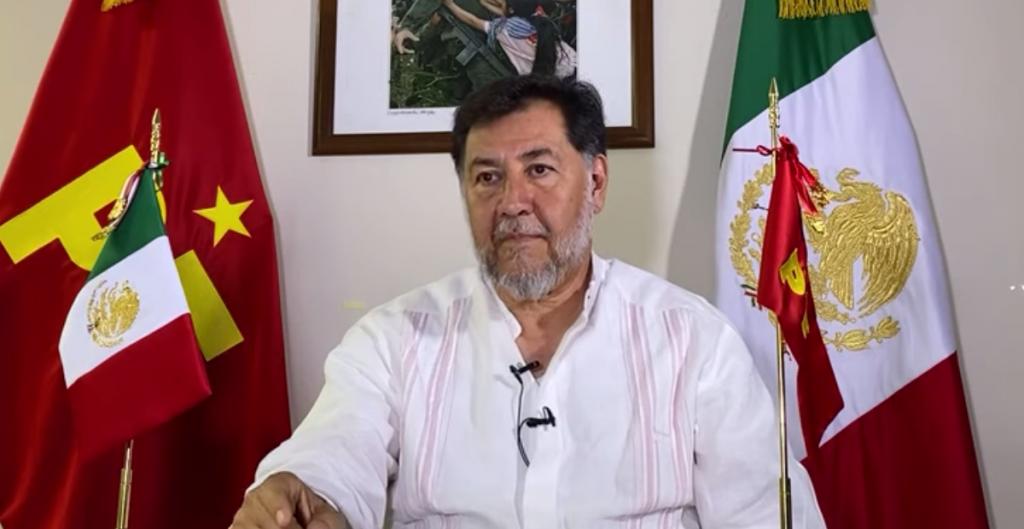 Noroña ofrece disculpas a la diputada Adriana Dávila, tras cinco días de la orden del TEPJF