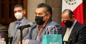 """Jaime Rodríguez, """"El Bronco"""", informó que dio negativo a la prueba de Covid-19"""
