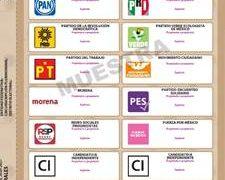 INE aprueba formato para las boletas de las elecciones locales