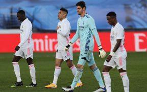 El Real Madrid se rezaga en la Liga con su derrota ante Levante. Foto: EFE