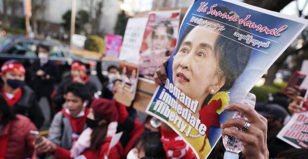 Presentan nuevos cargos contra la líder depuesta de Birmania, Aung San Suu Kyi