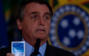 "Bolsonaro se retracta sobre cloroquina; ""por lo menos no maté a nadie"", dice"