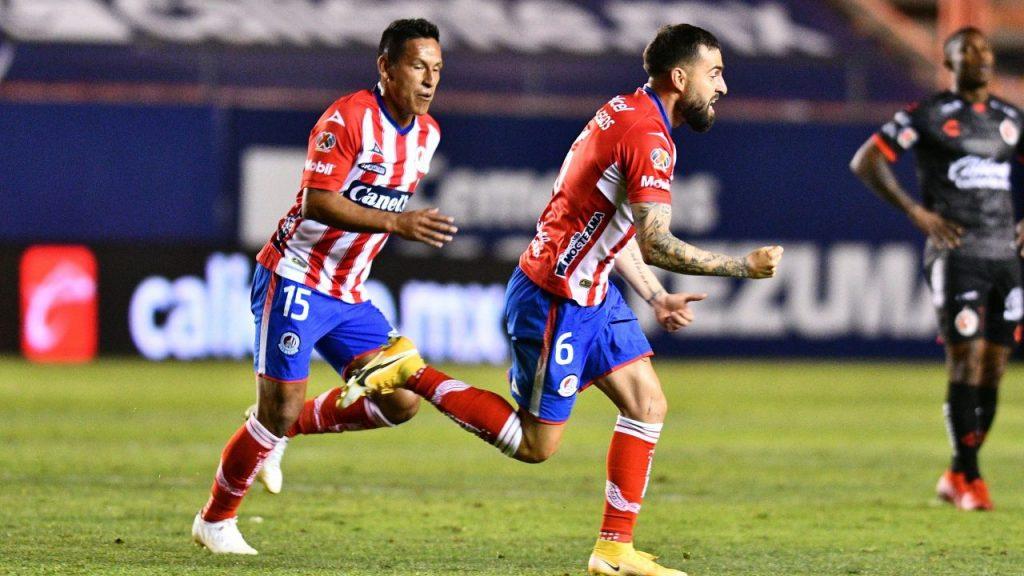 Felipe Gallegos anotó el 2-2 en el tiempo agregado. Foto: Mexsport