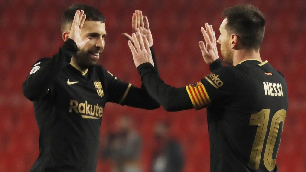 El Barcelona logró un apurado pase a semifinales de la Copa del Rey. Foto: Reuters
