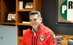 Alejandro Moreno encabeza lista de diputados plurinominales del PRI