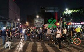 Policías de la CDMX golpean a ciclistas durante protesta; Sheinbaum ordena cesar a oficiales