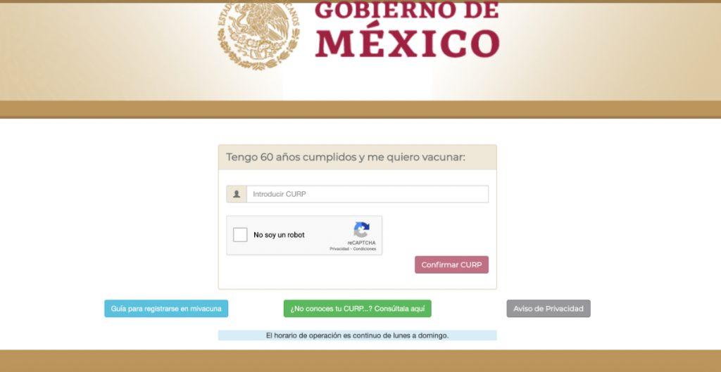 El portal de registro de vacunación de México es excluyente: AI