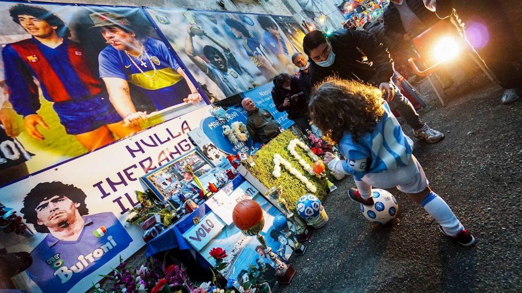 La muerte de Maradona sigue siendo un caso abierto. Foto: EFE