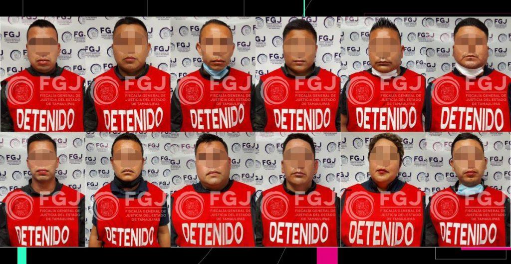 Vinculan a proceso a 12 policías estatales relacionados con el asesinato de 19 personas en Camargo, Tamaulipas
